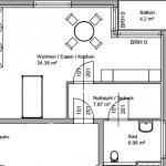 ca. 30 m2 mit einem zusätzlichen Anteil von ca. 8 m2 Lagerfläche
